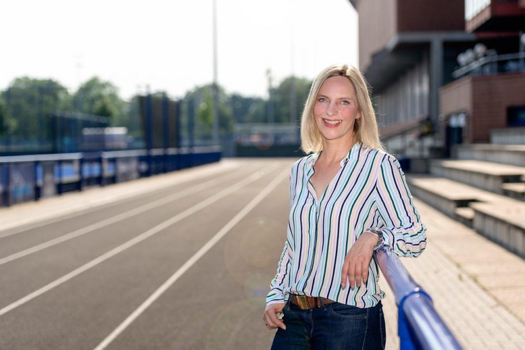 Antje Krämer, Abteilungsleiterin Leichtathletik im TSC Eintracht Dortmund. Foto: Jan Weckelmann