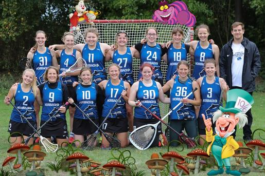 Wolverines im Wunderland – Rückblick der Lacrosse-Damen auf die Hinrunde 2019/20