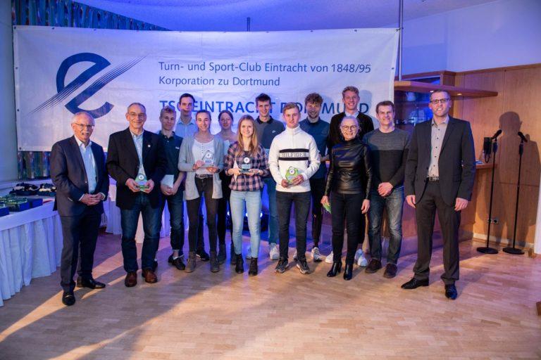 Insgesamt 19 Sportlerinnen und Sportler bestiegen im letzten Jahr das Treppchen bei Deutschen Meisterschaften.