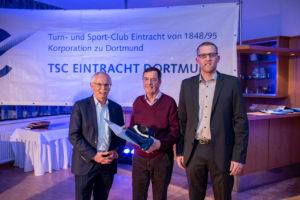 70 Jahre Mitgliedschaft im TSC Eintracht Dortmund