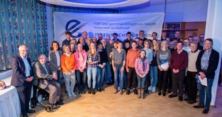 TSC ehrt herausragende Sportler zusammen mit vielen anderen verdienten Mitgliedern!