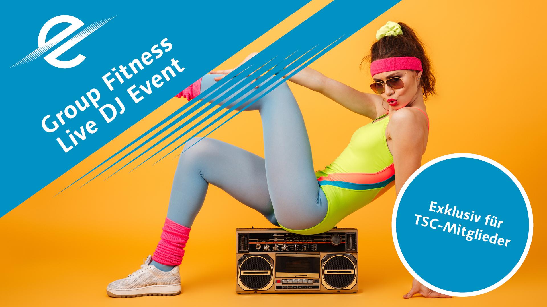 Group Fitness Live DJ Event