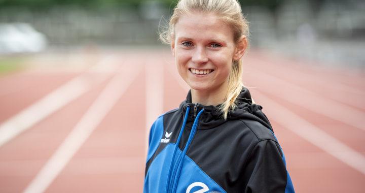 Linn Kleine freut sich über Bestleistung im Abitur
