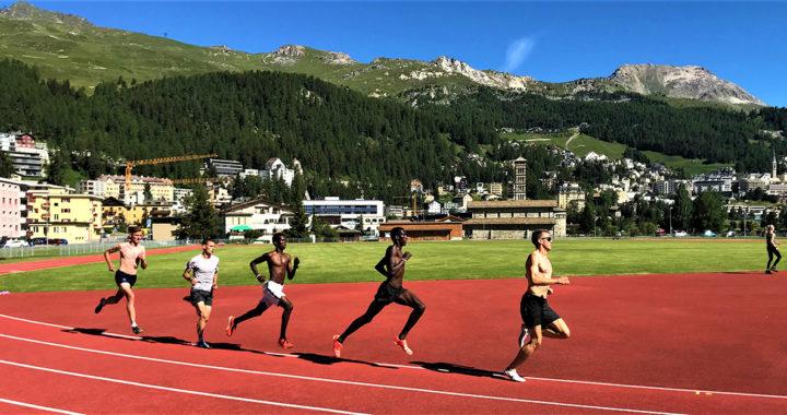 LGO-Langstreckler trainieren in St. Moritz