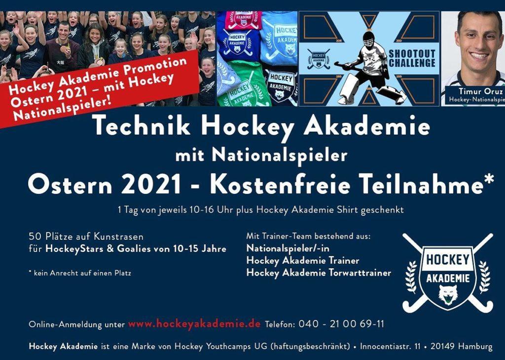Hockeyakademie beim TSC Eintracht