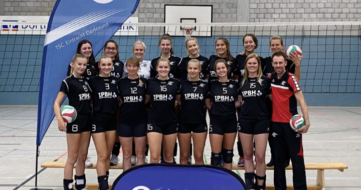 Volleyball-Damen spielen sich durch viel Variation zum Sieg