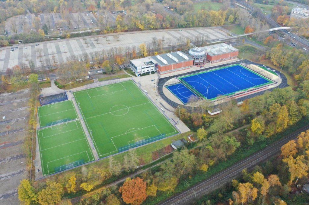 Das Sportzentrum des TSC Eintracht Dortmund an der Victor-Toyka-Str. 6 | Foto: Scheffler Helbich