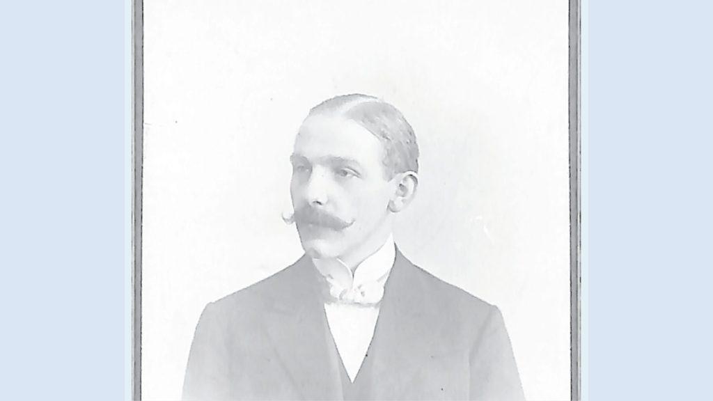 Walter Sanß leitete die erste DFB-Geschäftsstelle in Dortmund. Foto: Fußballarchiv Kolbe