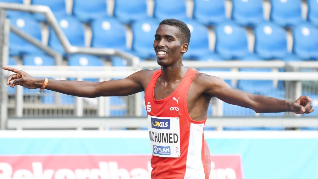 Mohamed Mohumed holte Gold über 5000 Meter. Foto: Iris Hensel