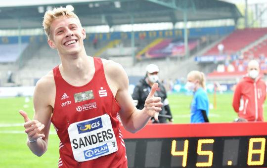 Leichtathletik: Zwei deutsche Meistertitel für die Eintracht