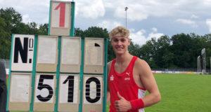 Till Marburger sprang 5,10 Meter und erreichte damit die Qualifikation für die U20 Weltmeisterschaft in Nairobi.