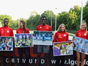 Leichtathleten Dortmund U23 EM Tallinn