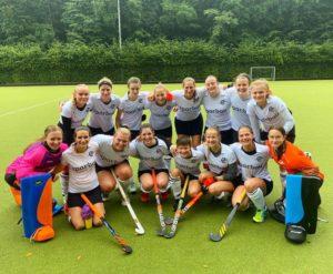 Die Dortmunder Hockey Damen haben ihr erstes Spiel 4:1 gewonnen.